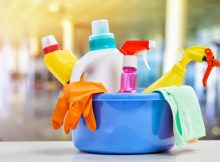 home cleaning items,